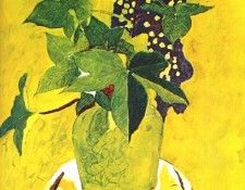 braque still life with flowers 1945. Брак, Жорж