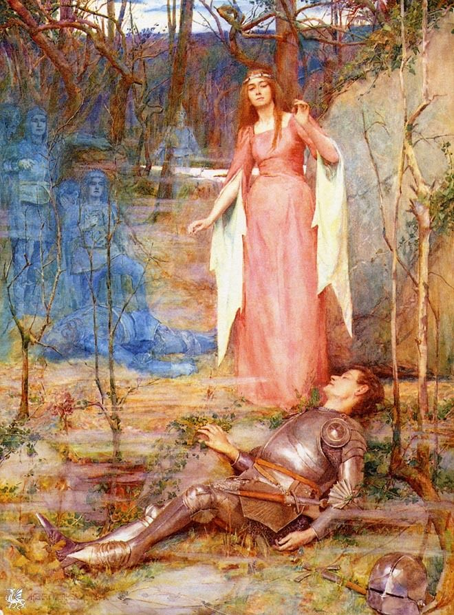 la belle dame sans merci La belle dame sans merci : ballad : i o what can ail thee, knight-at-arms, alone and palely loitering the sedge has wither'd from the lake, and no birds sing ii.