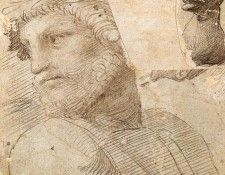 Raphael Study for the Head of a Poet. Рафаэль