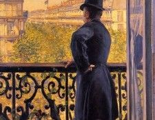 Caillebotte Gustave The Man on the Balcony2. Кайботт, Гюстав