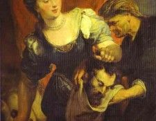 Peter Paul Rubens - Judith with the Head of Holofernes. Рубенс, Питер Пауль