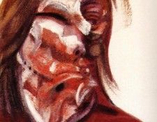 Bacon Study for Head of Isabel Rawsthorne II 1967. Бэкон, Фрэнсис