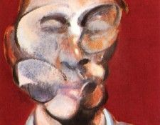 Bacon Study for Self-Portrait, center 1973. Бэкон, Фрэнсис