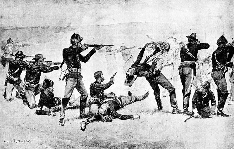 a history of the incidents that happened in wounded knee