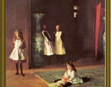 John Sargent-The Edward Boits Daughters(1882) Po Amp 058. Сарджент, Джон Сингер