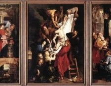 Rubens Descent from the Cross. Рубенс, Питер Пауль