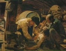They Still Say That Fish Is Expensive ATC. Sorolla Y Bastida Хоакин
