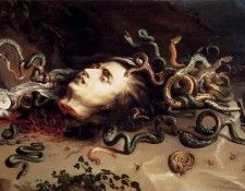 Rubens Head Of Medusa. Рубенс, Питер Пауль