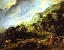 Peter Paul Rubens - Ulysses on the Island of the Phaeacians. Рубенс, Питер Пауль