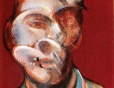 Bacon Study for Self-Portrait, left 1973. Бэкон, Фрэнсис
