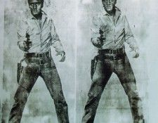Warhol Double Elvis, 1963, Private. Уорхол, Энди