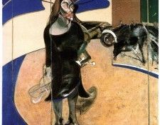 Bacon Portrait of Isabel Rawsthorne standing in a street in . Бэкон, Фрэнсис