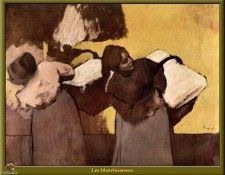 PO Degas 37 Les blanchisseuses(1876-1878). Дега, Эдгар-Жермен-Илер