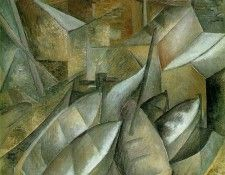 Braque Fishing boats, 1909, Museum of Fine Arts, Houston, Te. Брак, Жорж