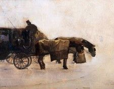 Arntzenius Floris Coaches In The Winter Cold Sun. Arntzenius, Флорис