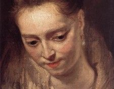 Rubens Portrait of a Woman. Рубенс, Питер Пауль