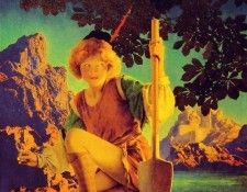 Jack and the Beanstalk. Пэрриш, Maxfield