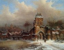 Biester Anton Winter at the Nether Rijn Sun. Biester, Антон