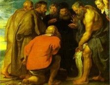 Peter Paul Rubens - St. Peter Finding the Tribute Money. Рубенс, Питер Пауль