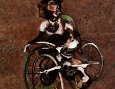 Bacon Portrait of George Dyer riding a bicycle, 1966. Бэкон, Фрэнсис