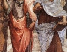 Raphael The School of Athens detail1. Рафаэль
