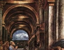 Raphael The Expulsion of Heliodorus from the Temple detail2. Рафаэль