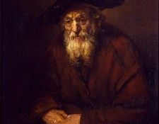 Rembrandt Portrait of an Old Jew, 1654, 109x85 cm, Eremitage. Рембрандт Харменс ван Рейн