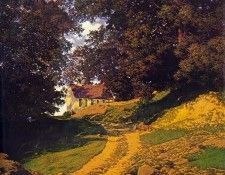 The Country Schoolhouse. Пэрриш, Maxfield