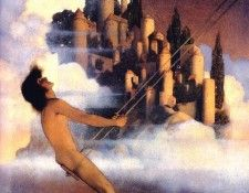 Mp 0006 The Dinkey  Bird MaxfieldParrish sqs. Пэрриш, Maxfield
