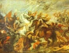 Peter Paul Rubens - Henry IV at the Battle of Ivry. Рубенс, Питер Пауль