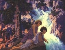 al parrish006 waterfall. Пэрриш, Maxfield
