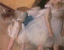 Degas Edgar Before the Rehearsal c1880. Дега, Эдгар-Жермен-Илер