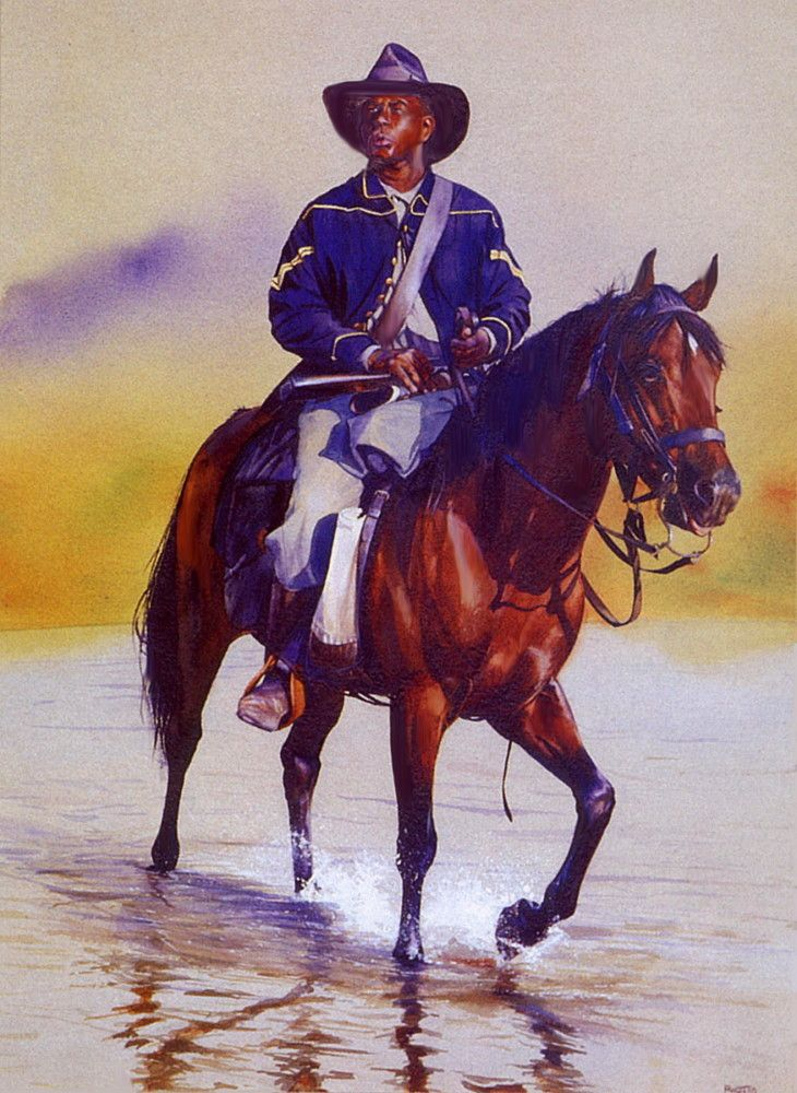 "buffalo soldier essay 9th & 10th (horse) cavalry association ""buffalo soldiers completed applications must contain: application essay official transcript."