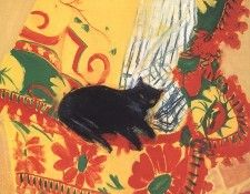 bs-cc-Cat on a Rug [Elizabeth Blackadder]. Blackadder, Элизабет