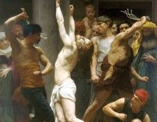 The Flagellation of Christ. Бугро, Адольф Вильям