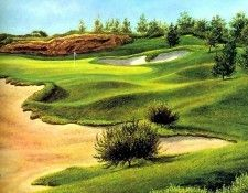 fairways csg011 pelican hill 12th hole-dave chapple. Chapple, Дейв