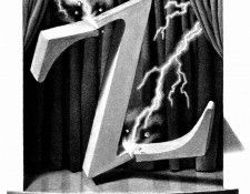 Z 026 The Z was Finally Zapped ChrisVanAllsburg sqs. Allsburg, Крис Ван