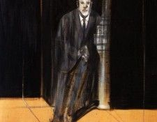 Bacon Portrait of Lucian Freud, 1951. Бэкон, Фрэнсис