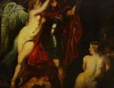 Peter Paul Rubens - The Champion of Virtue (Mars), Crowned by the Goddess of Victory. Рубенс, Питер Пауль