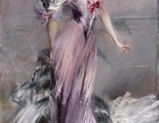 Boldini Giovanni Portrait of Mrs. Howard Johnston. Boldini, Джованни