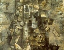 Braque Man with a Guitar, 1911. MOMA NY. Брак, Жорж