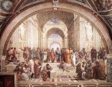 Raphael The School of Athens. Рафаэль