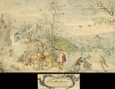 Alsloot Winter Landscape with Figures, 1612-16, Eremitaget. Alsloot, Денис Ван