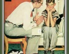 zFox Norman Rockwell Facts Of Life. Рокуэлл, Норман