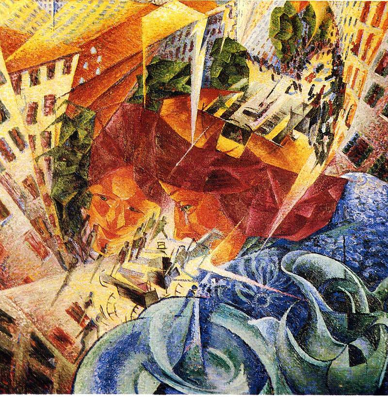an examination of the futurist movement in art