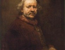 REMBRANDT SELFPORTRAIT 1669 NG LONDON. Рембрандт Харменс ван Рейн