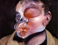 Bacon Self Portrait with Injured Eye, 1972. Бэкон, Фрэнсис