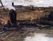 Arntzenius Floris Steam Machine In Building Well Sun. Arntzenius, Флорис