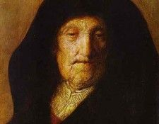 Rembrandt - Portrait of Rembrandts Mother. Рембрандт Харменс ван Рейн