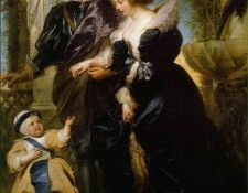 Rubens Rubens his wife Helena Fourment and their son Peter Paul. Рубенс, Питер Пауль